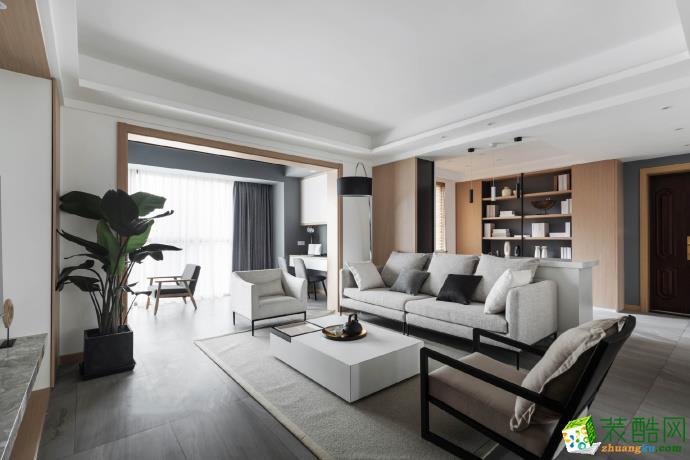 【塞纳春天装饰】现代简约风格家居装修效果图--天房意境