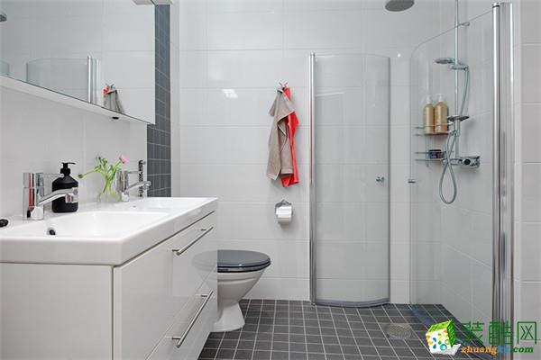 三室居北欧风格装饰卫生间效果图