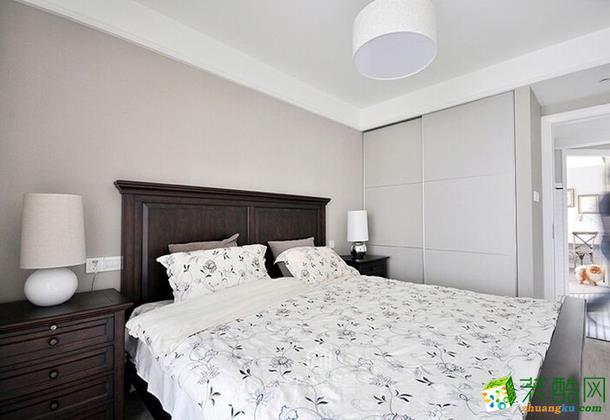 66�O二居室北欧风格装修案例_青海碧景装