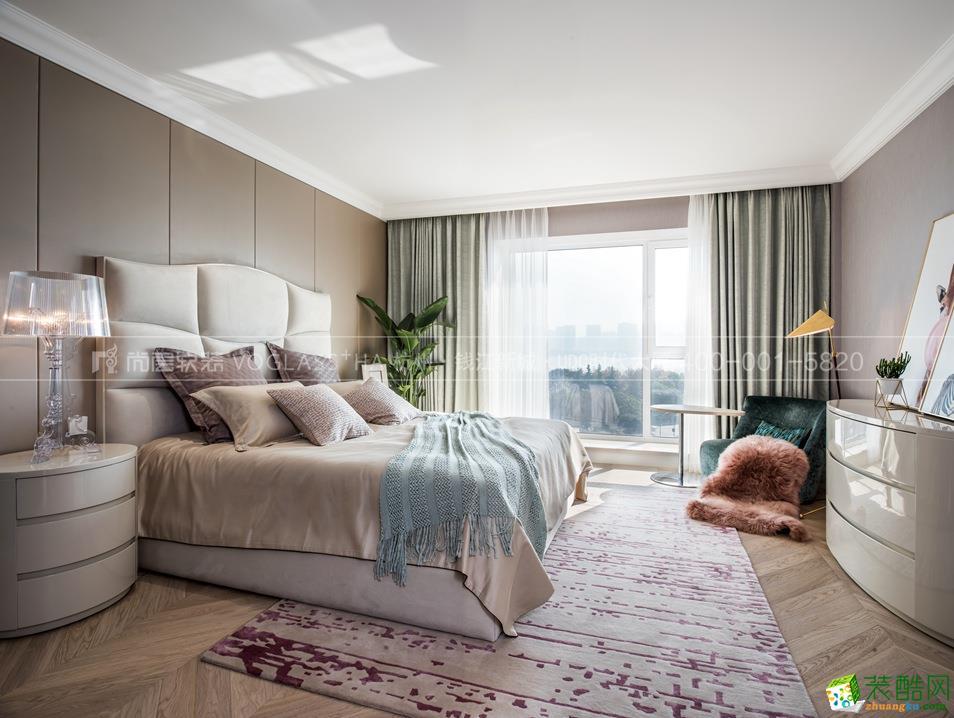 >> 【尚层软装】阳光海岸480方简约别墅软装设计搭配