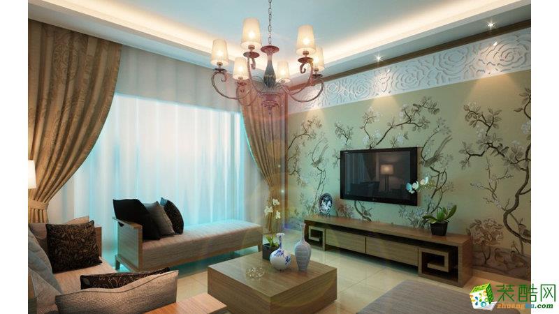 南京生活家装饰工程有限公司-三室两厅一卫