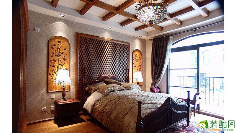 卧室 四室两厅|140平|中式风格|装修效果图 【生活家装饰】中式风格|四室两厅