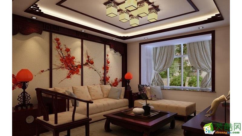 客厅 四室两厅|140平|中式风格|装修效果图 【生活家装饰】中式风格|四室两厅