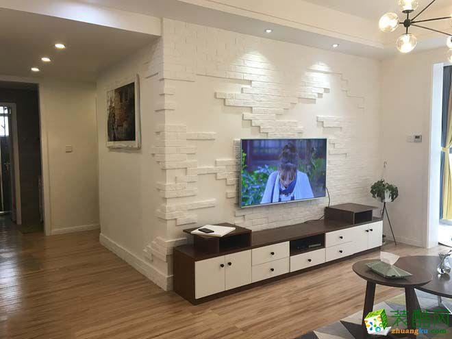 【壹品装饰】115平米现代简约风格三居室装修案例图