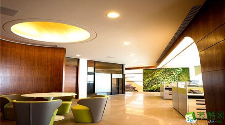 【伊云软装】70㎡办公休息区现代风格软装设计搭配