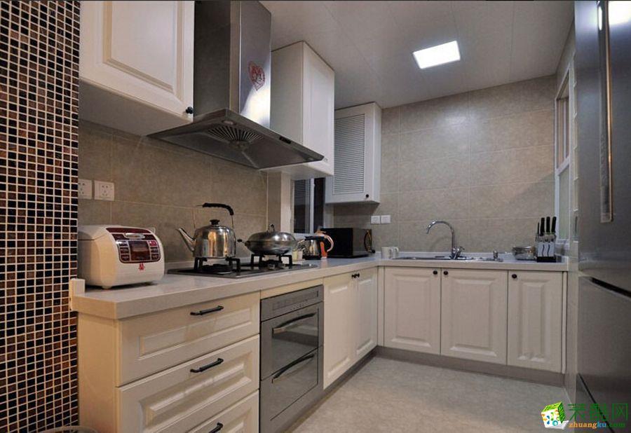 [廚房]【元隆裝飾】83平米簡歐風格兩居室裝修案例圖賞析.
