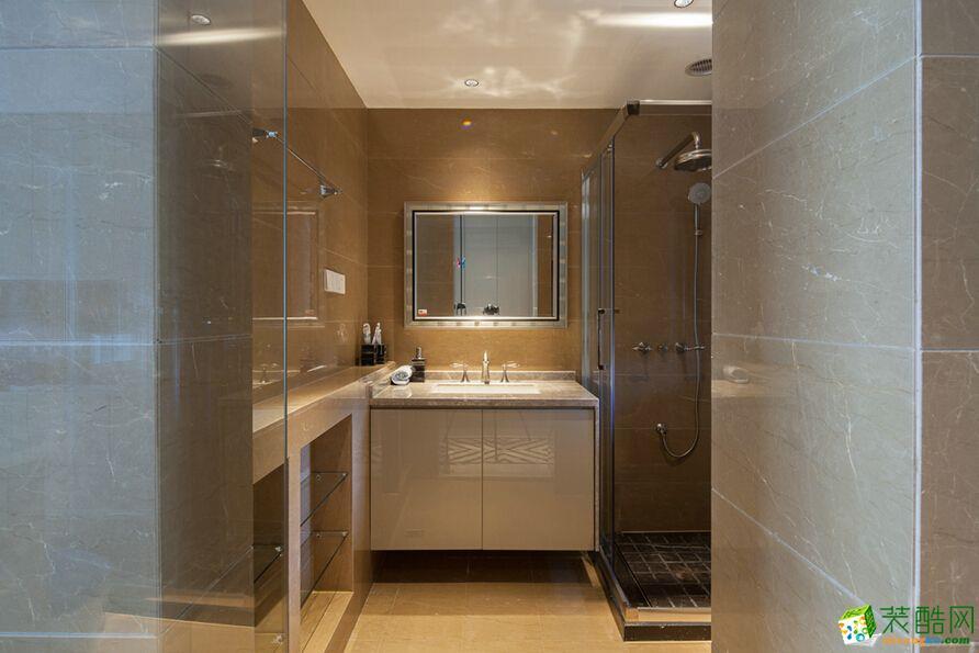 【菲利安装饰】欧式风格110平米三室两厅装修实景案例图赏析。