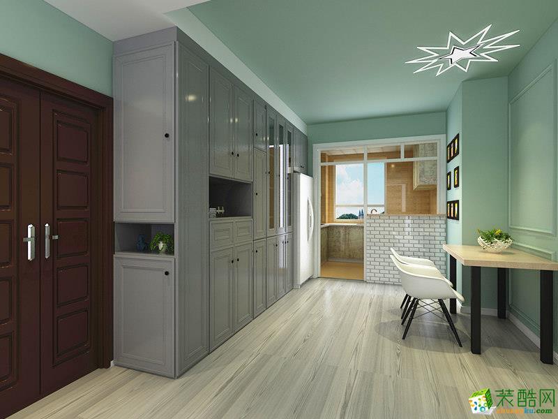 现代简约两居室装修效果图-餐厅装修效果赏析