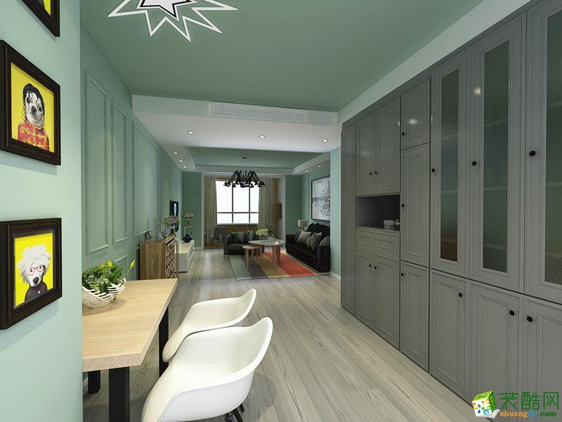 长沙天麓装饰-现代简约两居室装修效果图