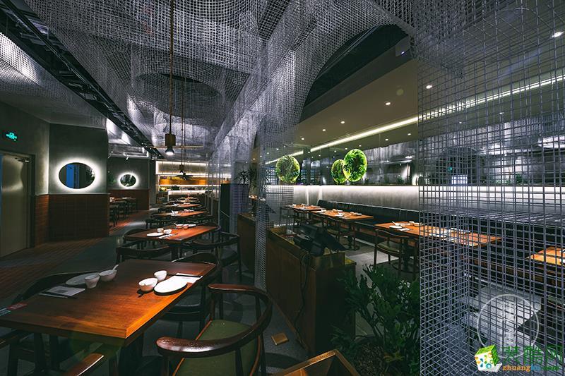 【帮浦设计】   滨江龙湖天街店亚萃新加坡餐厅设计装修效果图