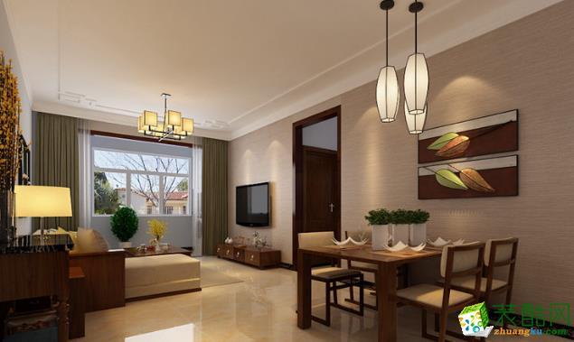 长沙雅筑装饰-现代简约三居室装修效果图