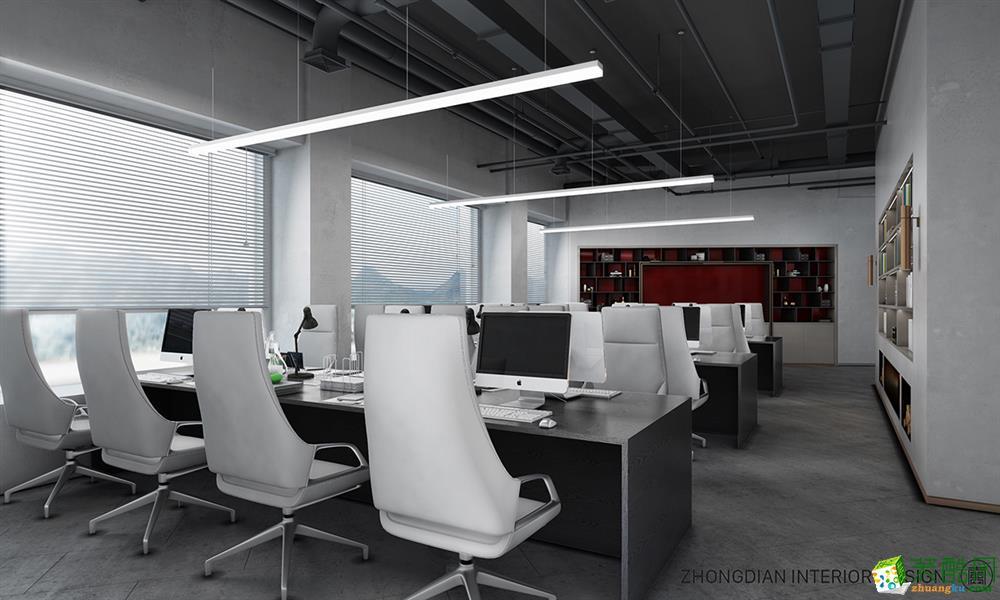 【众典装饰】第六空间设计iN600方办公室装修设计效果图