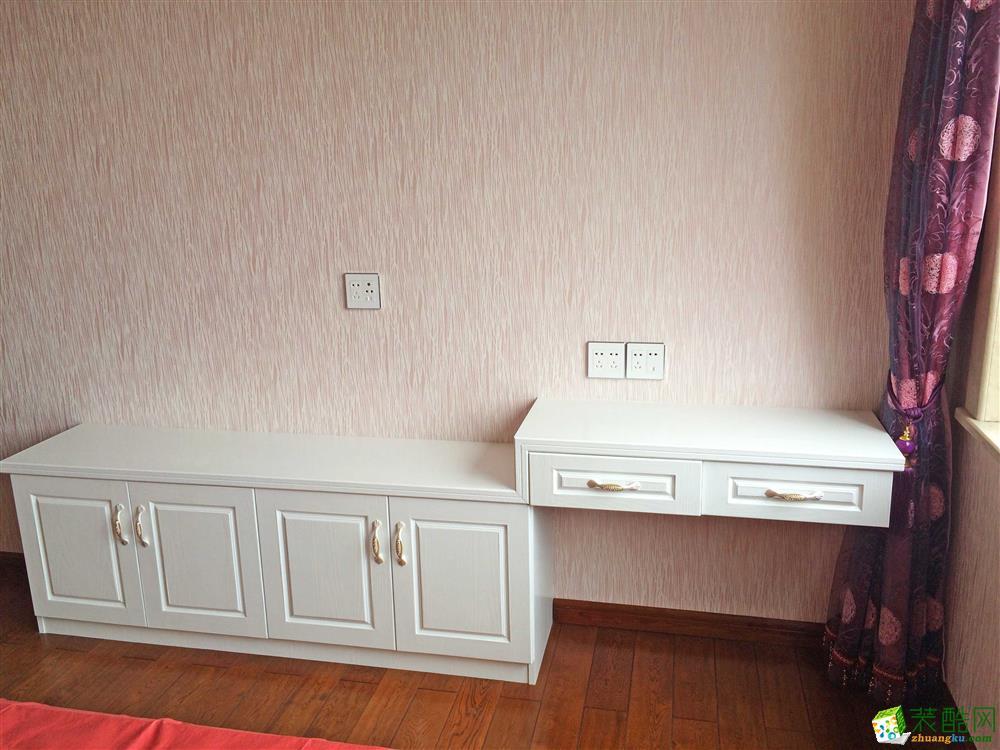 【金棕榈装饰】南和城160方简欧风格四居室装修效果图