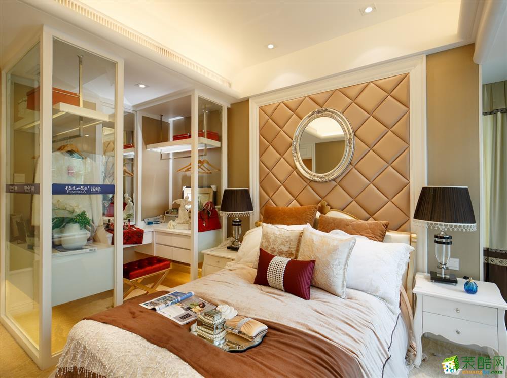 【金棕榈装饰】顺发和美家90方loft简欧风格装修效果图