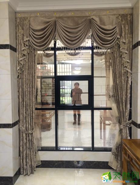 【金棕榈装饰】320方中式风格别墅装修设计实景图