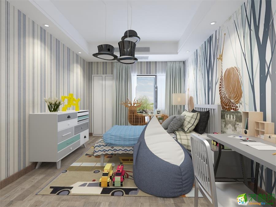 美式四居室装修效果图-卧室装修效果赏析