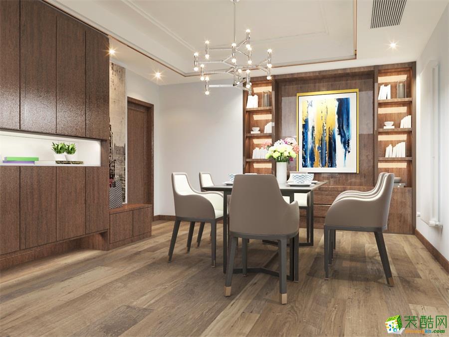 美式四居室装修效果图-餐厅装修效果赏析