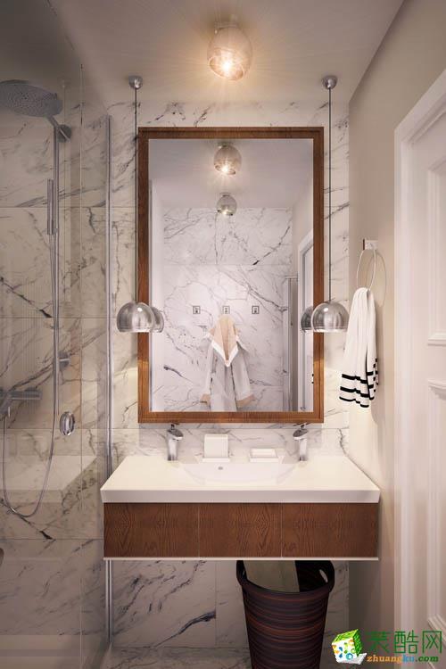 【佳木斯日盛装饰】89方两室两厅装修效果图