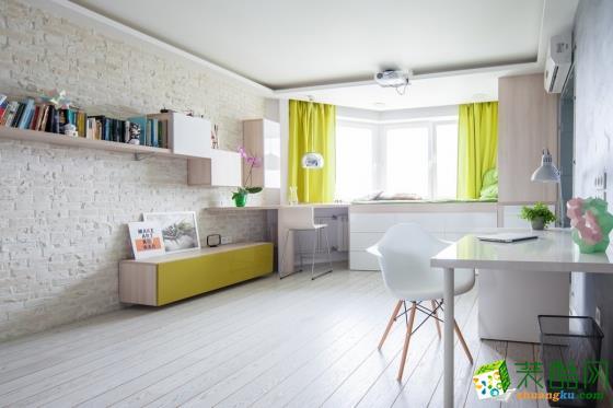 龙湖装饰―42方一室一厅现代风格装修效果图