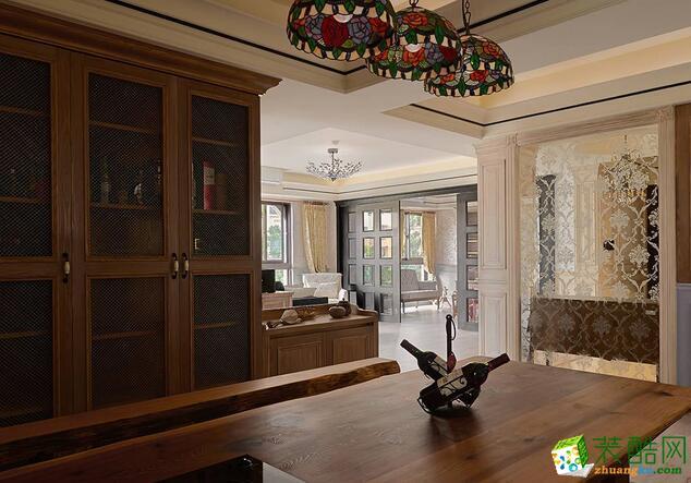 龙湖装饰―142方三室两厅装修效果图