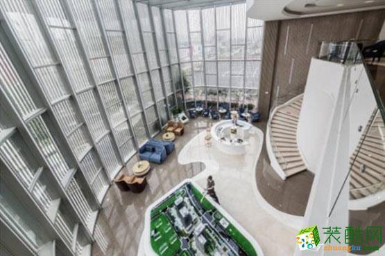 【全装宝】杭州星耀城500方办公室装修效果图