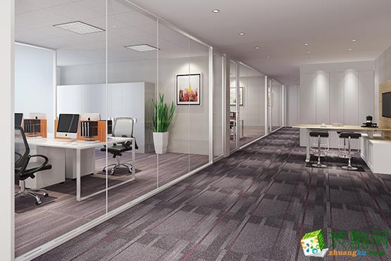 【全装宝】聚邦科技1000方办公室装修效果图