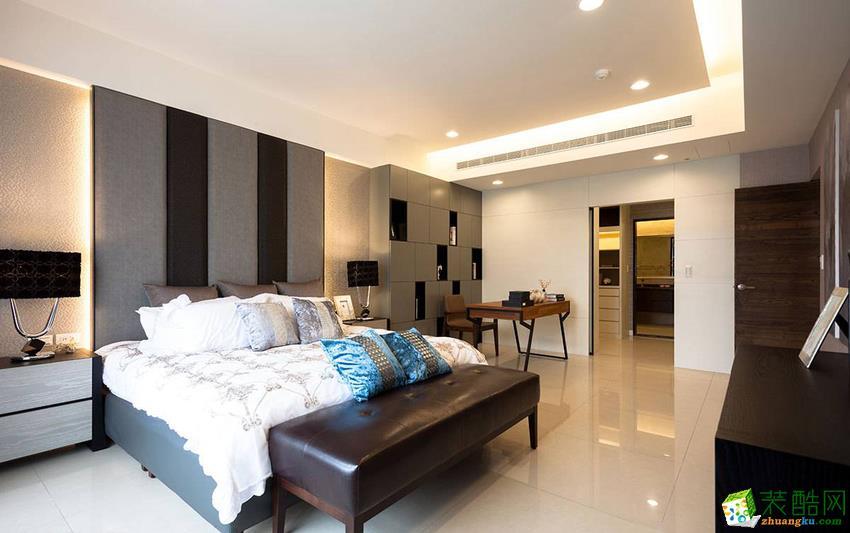 现代三居室装修效果图-卧室装修效果赏析