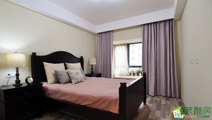 美式乡村三居室装修效果图-卧室装修效果赏析