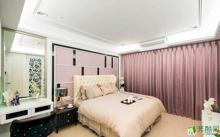 欧式三居室装修效果图-卧室装修效果赏析