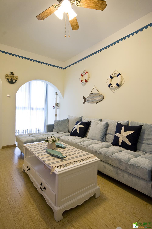 西安暖宅装饰-地中海三居室装修效果图