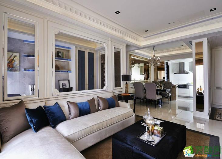 客厅 混搭三居室装修效果图-客厅装修效果赏析 君杰装饰-混搭三居室装修效果图