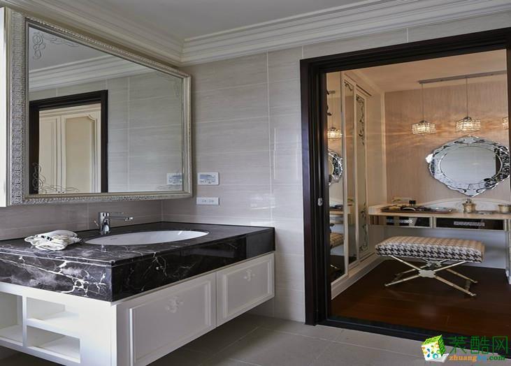 卫浴 混搭三居室装修效果图-卫生间装修效果赏析 君杰装饰-混搭三居室装修效果图
