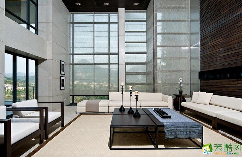 臨道緣裝飾---200平米現代簡約風格躍層住宅裝修案例圖