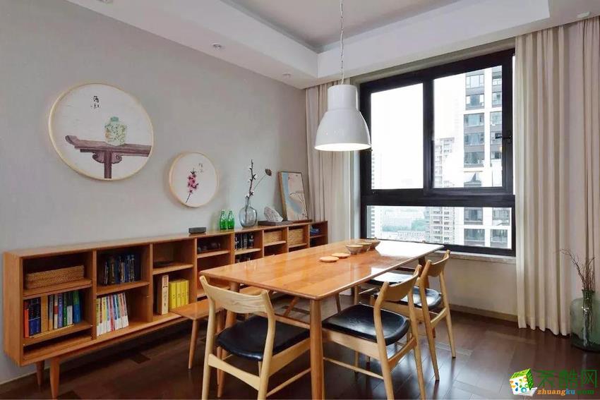 北欧两居室装修效果图-餐厅装修效果赏析