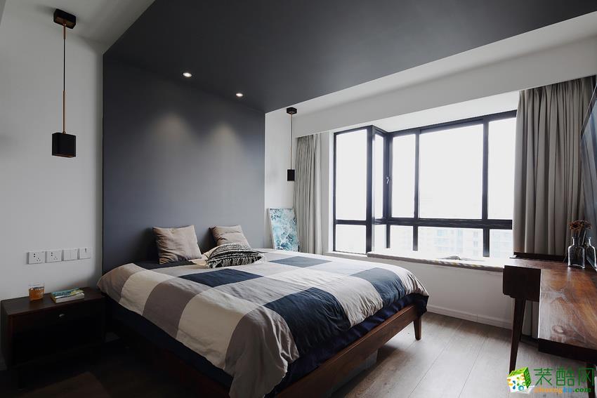 北欧三居室装修效果图-卧室装修效果赏析