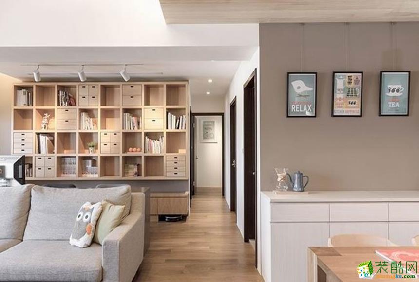 北欧三居室装修效果图-客厅装修效果赏析