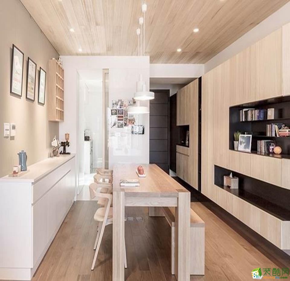 北欧三居室装修效果图-餐厅装修效果赏析