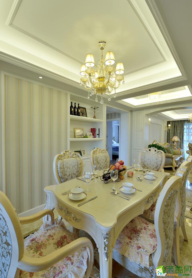 餐厅 欧式三居室装修效果图-餐厅装修效果赏析 长沙晶石装饰-欧式三居室装修效果图
