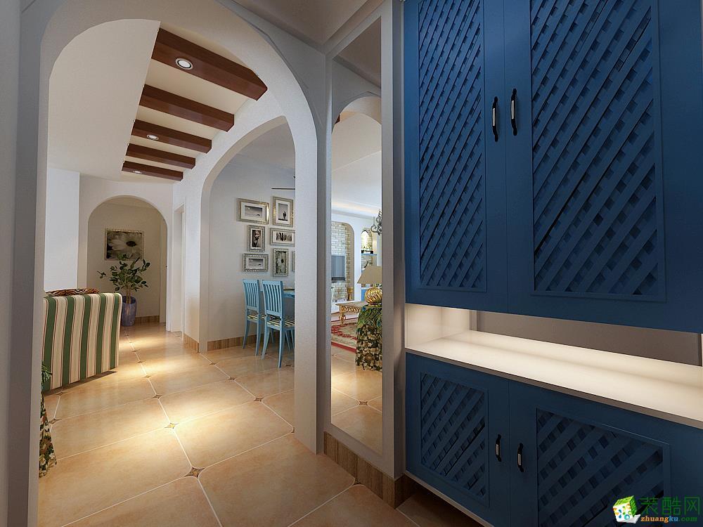 客厅 地中海三居室装修效果图-客厅装修效果赏析 中建八局装饰-地中海三居室装修效果图