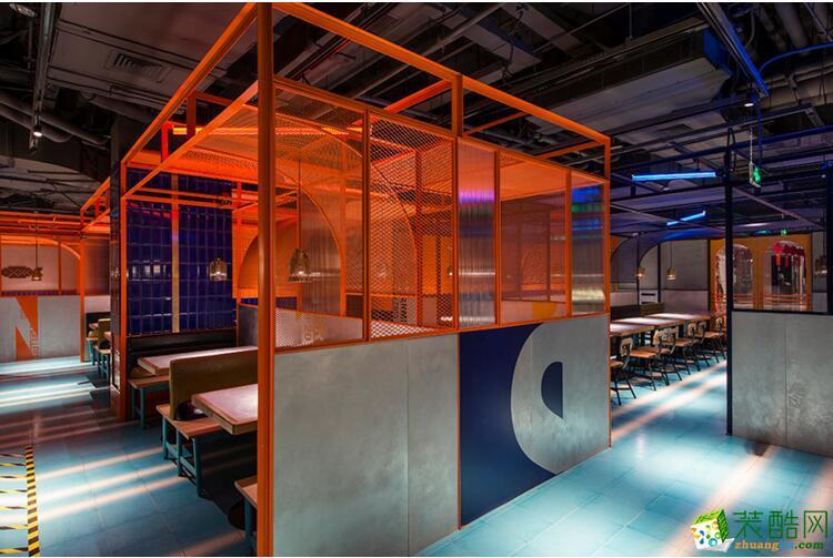 探鱼餐厅360方装修设计效果图