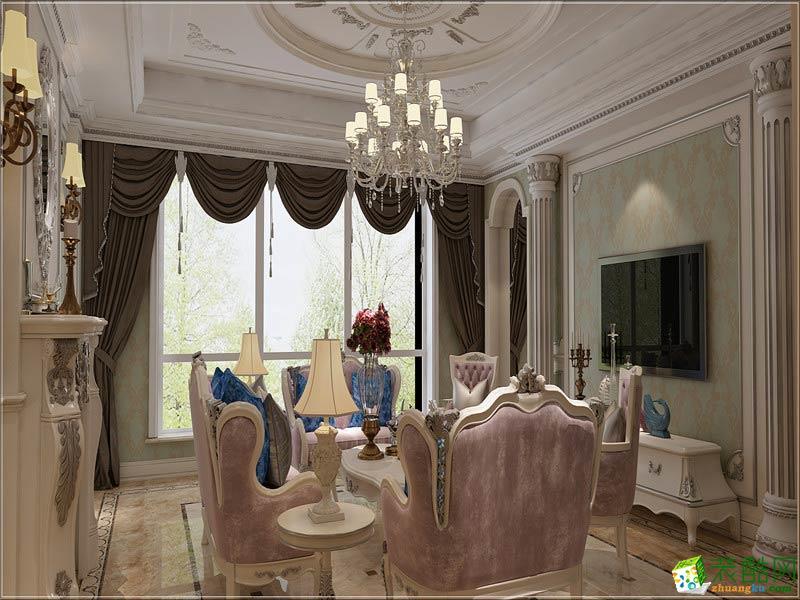 餐厅  西安千百炼装饰-欧式三居室装修效果图