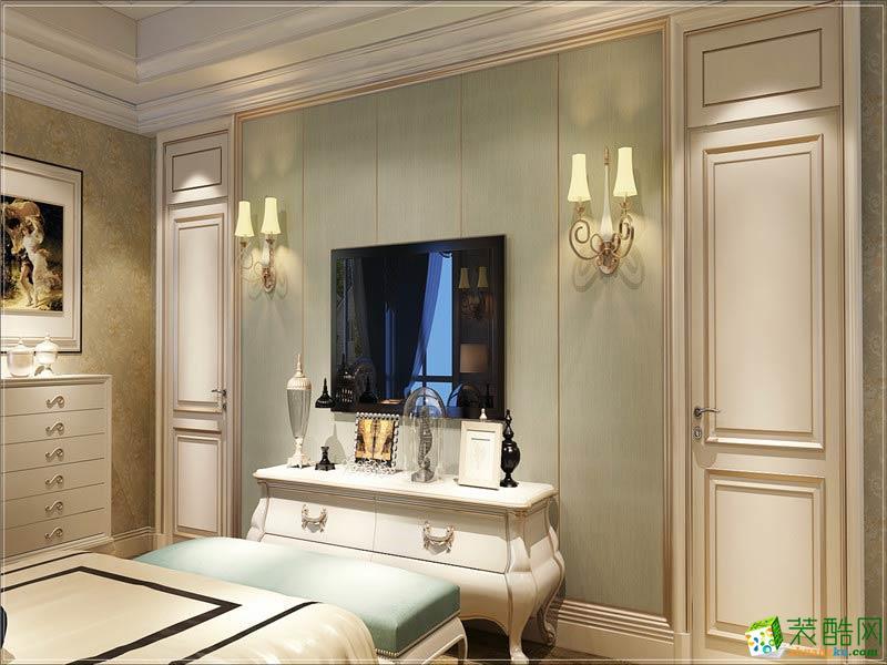 卧室  西安千百炼装饰-欧式三居室装修效果图