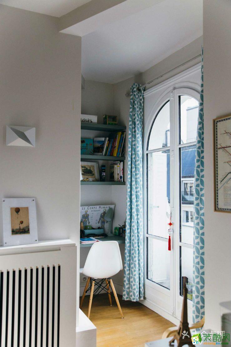 【铭品装饰】泰宏阳光和苑100方三室一厅简约风格装修效果图