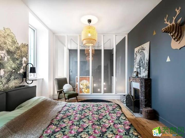 愛尚家裝飾---118平米法式風格三室兩廳裝修案例圖