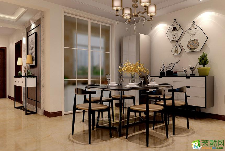 餐厅  景尚装饰-现代简约两居室装修效果图