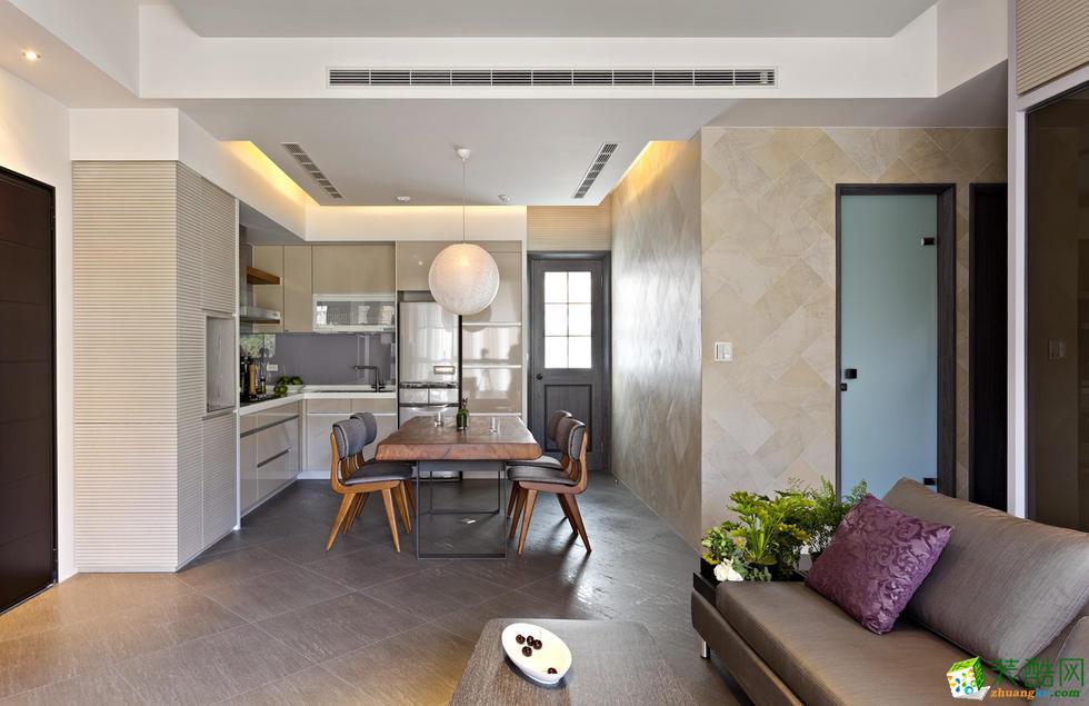 【天世居装饰】160平米简朴淡雅式简约风装修案例赏析。