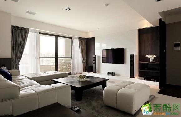 四星装饰---45平米简约风格一居室装修案例图