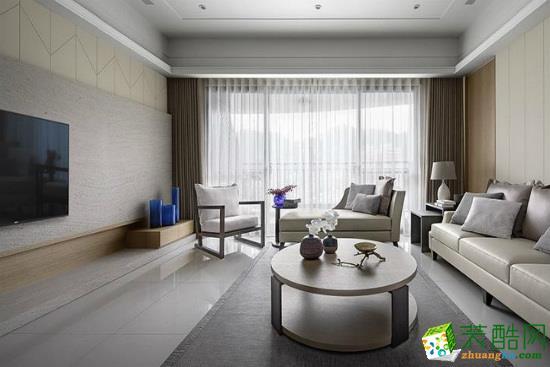 【标典装饰】157方四室两厅大平层装修设计效果图