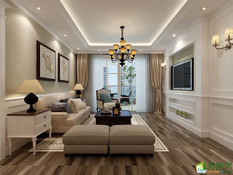 琦景裝飾---120平米現代簡約風格三室兩廳裝修案例圖