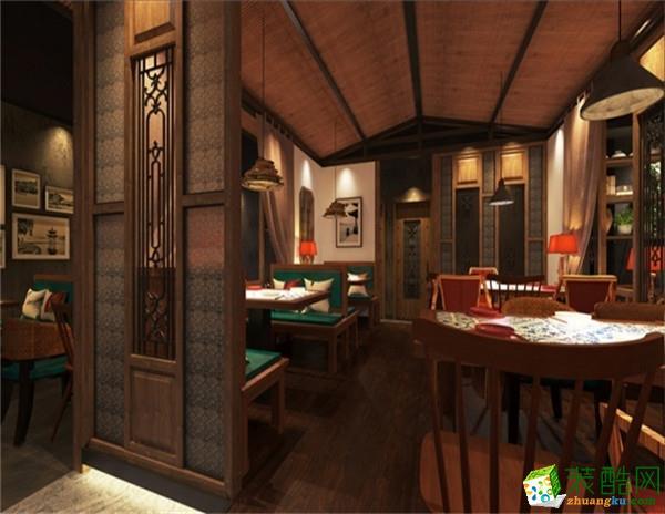 绿茶餐厅 圣融建筑装饰